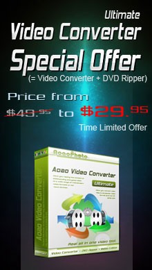Video Converter Ultimate Special Offer