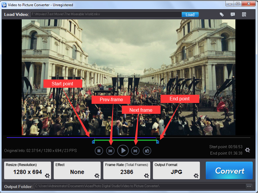 Find video to picture software to convert video frames to seriate ...