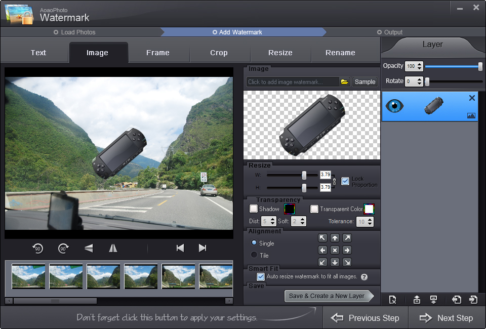 Aoao Watermark Software 7.2